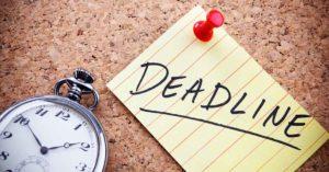 Deadline als onderhandel tactiek, hoe gebruik je die?