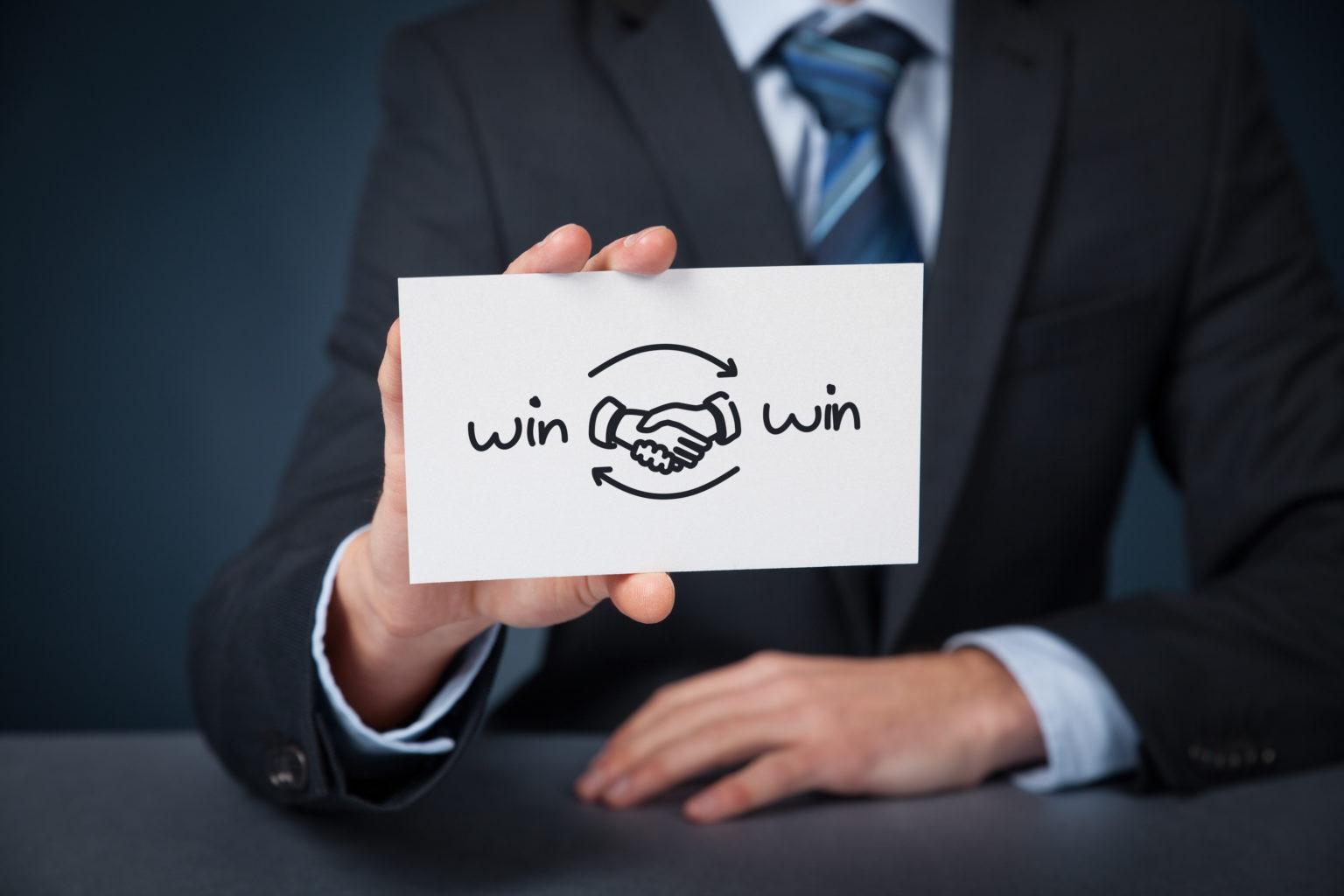 win-win onderhandelen, wat is dat?